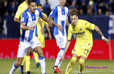 Soi keo CD Leganes vs Villarreal 14-09-2019